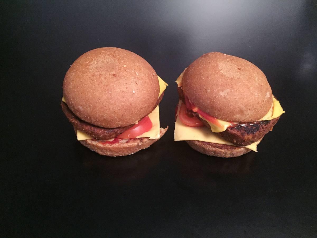 Veggie burger !