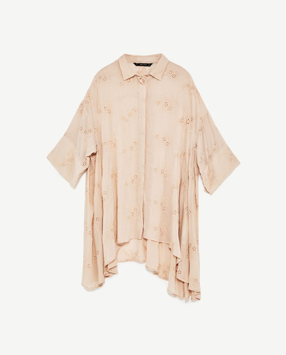 blouse femme, blouse zara, zara, caftan, blog mode
