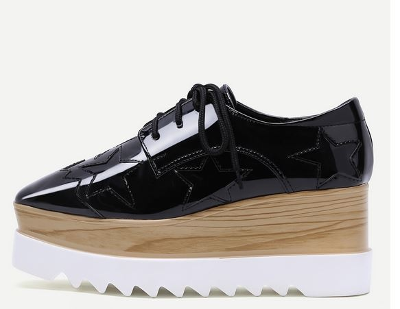 inspiration stella mccartney, stella mccartney, chaussures compensées, plateform shoes, blog mode, the green ananas.JPG1