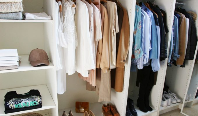 un dressing pour pas cher, dressing pas cher, idée dressing, deco interieur, ikea, la redoute, hom deco, leroy merlin, hm home,
