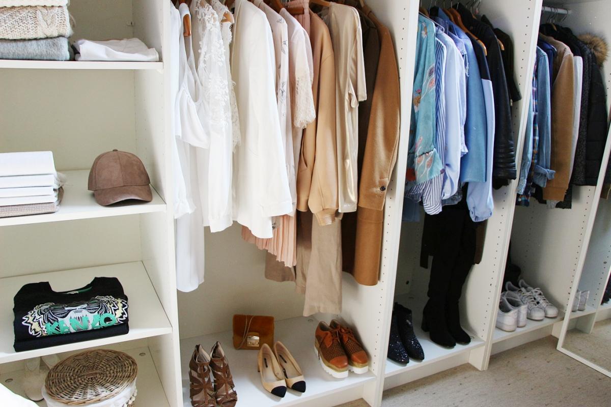 mon dressing pour pas cher, dressing pas cher, idée dressing, deco interieur, ikea, la redoute, hom deco, leroy merlin, hm home,