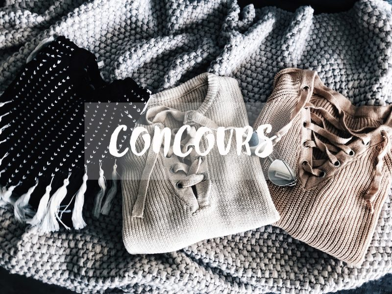 Concours ZAFUL 100$ en carte cadeau à gagner, zaful, the green ananas, concours, pulls lacets, pulls femme-blogueuse-mode-blogger