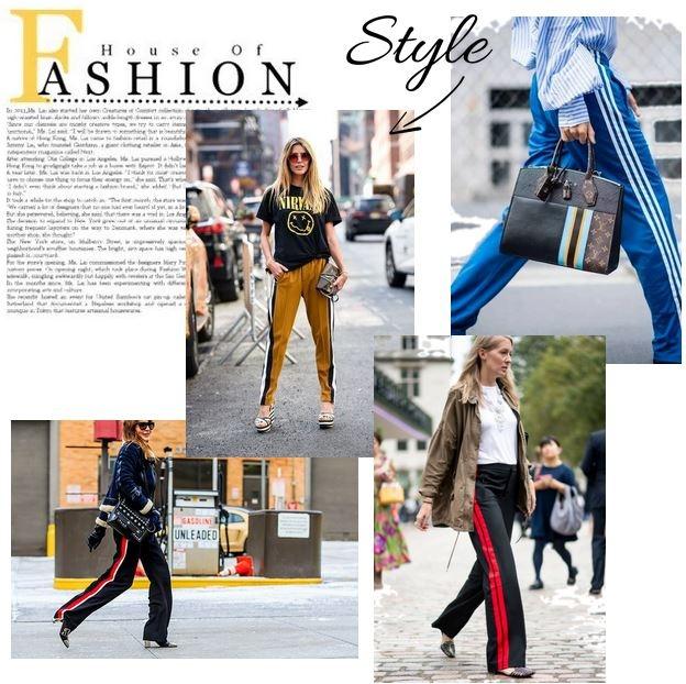 pantalon à bandes, pantalons femmes, pantalon jogging femme, blog mode, the green ananas, asos, zara