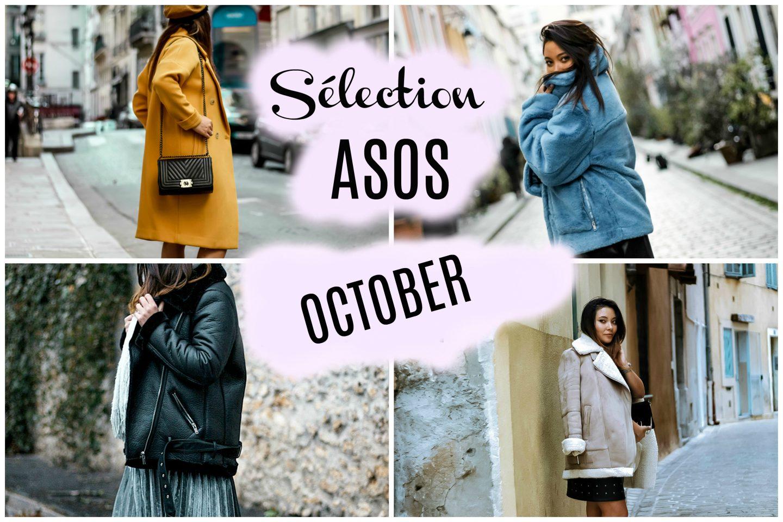 blog mode, the green ananas, blousons aviator asos, code promo asos, manteaux asos, sélection asos october, faux fur b