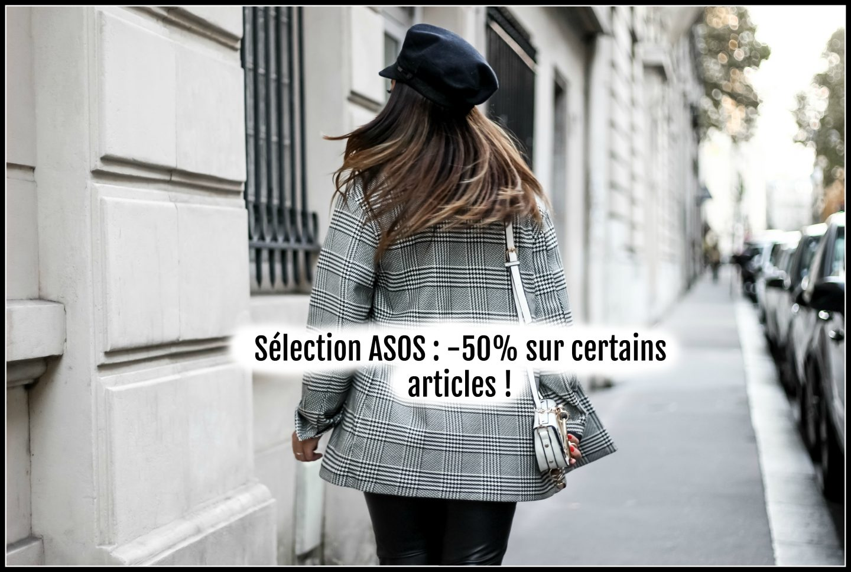Sélection ASOS : -50% sur une sélection d'articles !