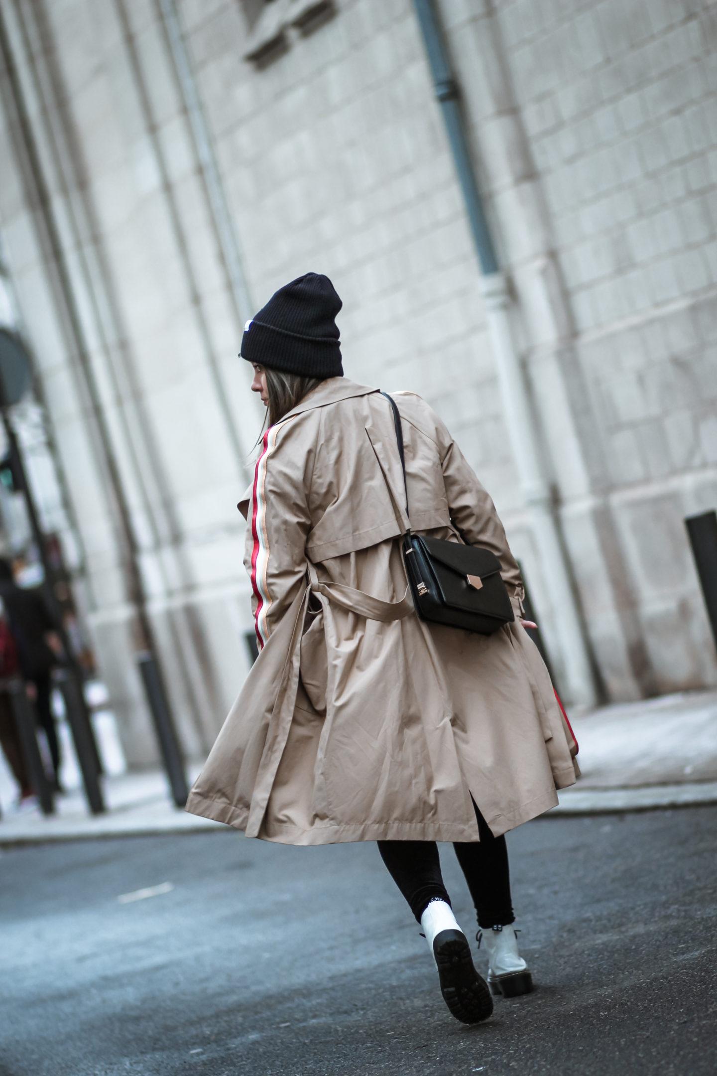 STREETWEAR TRENCH COAT